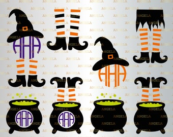 Witch Legs Svg Etsy