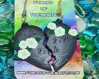 It's You, It's Me, It's Us - Heart Pieces [CHARITY] Wood Charms