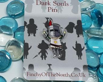 Chibi Souls Sun Knight [CHARITY] pin badge