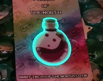 Love Potion Glow In The Dark [CHARITY] pin badge