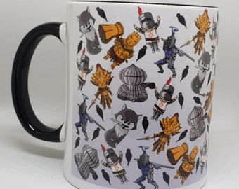 Chibi Souls allover print style [CHARITY] mug