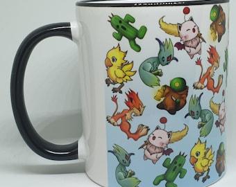 Fantasy Creatures allover print style [CHARITY] mug
