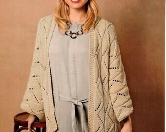 Cotton beige oversize cardigan jacket. Knit spring cardigan. Hand knit  oversize woman sweater chunky slouchy beige cream dark milk cardigan 89a6c8601