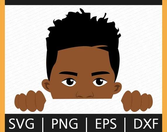Download Barcut Peek a boo Afro boy SVG African American Peeking ...