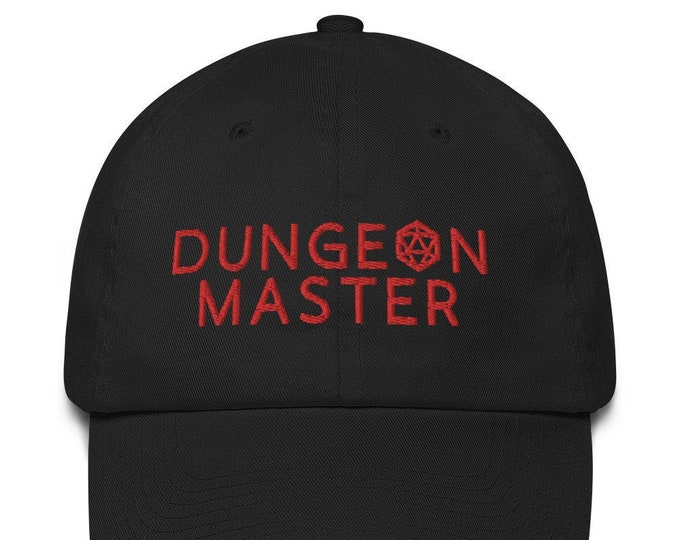 Dungeon Master Baseball Cap | Gamer Dad Hat