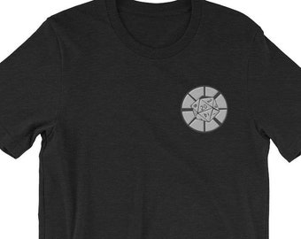 Dice Ministry Embroidered Logo Short-Sleeve Unisex T-Shirt