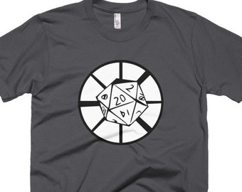 Dice Ministry Round Logo T-Shirt