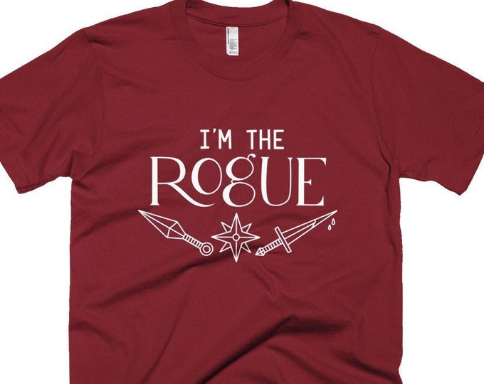 I'm the Rogue T-Shirt | Short-Sleeve Gamer Tee