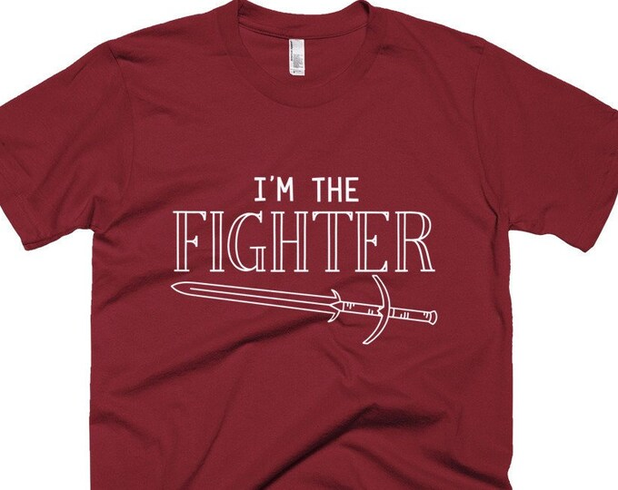 I'm the Fighter T-Shirt | Short-Sleeve Gamer Tee
