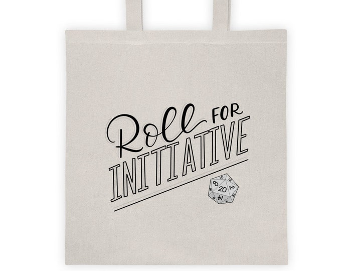 Roll for Initiative Tote Bag