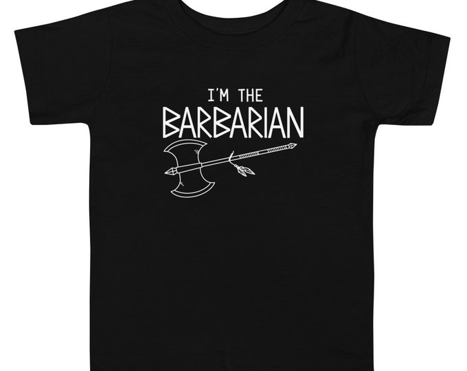 Toddler Short Sleeve Barbarian Tee