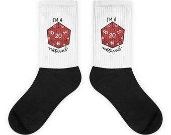 Natural 20 Socks | Critical Hit