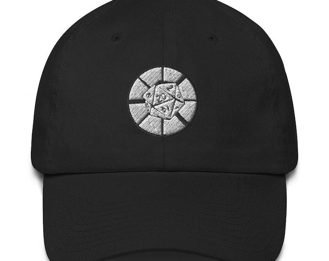 Dice Ministry Round Logo Cotton Baseball Cap