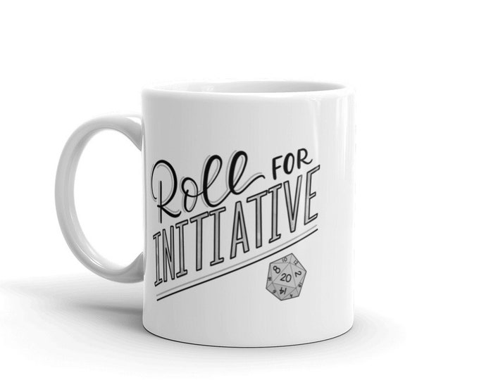 Roll for Initiative Mug