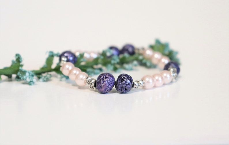 lava bracelet oil diffuser bracelet Purple lava stone bracelet lava bead bracelet lava stone bracelet essential oil bracelet lava bead