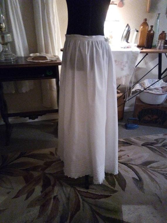 SALE Edwardian 1900s era petticoat/FREE SHIPPING