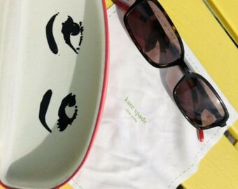 793782a752883 Authentic Signed Kate Spade New York ANKAS Tinted Fashion Sunglasses W  Case Wipe