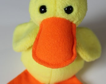 1993 TY The Beanie Babies Collection Quackers Reg 1965 Vintage Plush  Stuffed Animal cute yellow baby duck toy 718b3b84a020