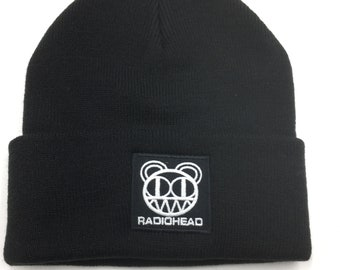 c92817d9bc1 RADIOHEAD BEANIE Men Women Winter WarmSkull Hip-Hop Bboy Wool Knit Ski Hat  Cap