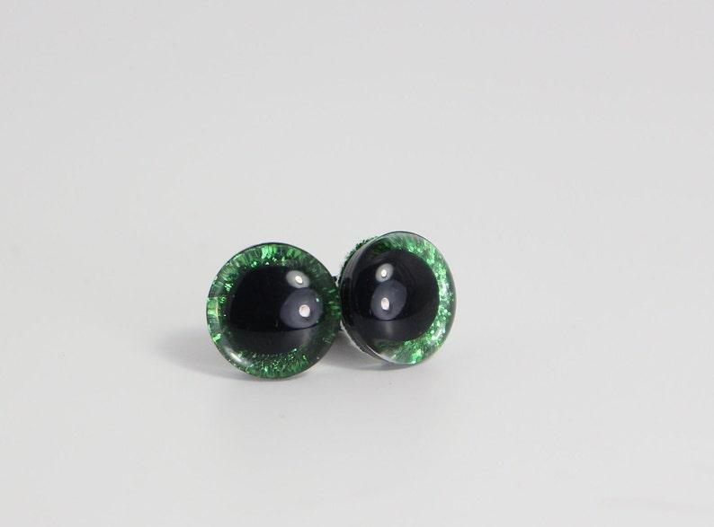 5 Pairs 12 mm Pink Glitter  Safety Eyes With Slip Iris Black Pupil 10 pcs5 pairs Amigurumi  Dolls  Animals
