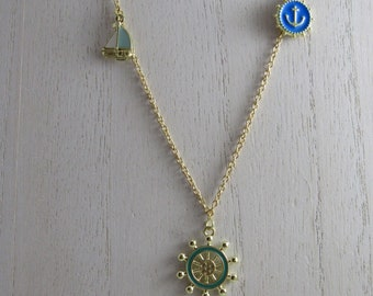 Summer By The Sea Charm Necklace