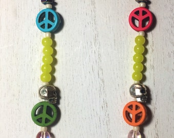 Peace, Love and Festivals Necklace