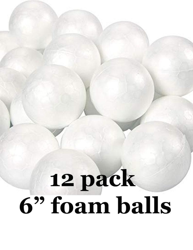 Styrofoam Polystyrene EPS Balls Spheres Round  Arts Crafts Wedding Baby Shower