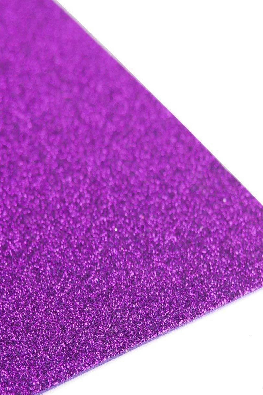 Purple Glitter 10 Pack 12