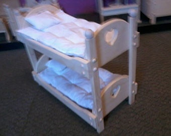 American Girl Doll Bunk Bed Etsy