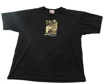 vintage NASCAR Dale Earnhardt portrait 3 chase black XL T shirt vtg90 b286d7e53