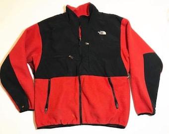 6ed38702f north face denali hoodie fleece jacket mens vintage