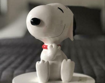 Snoopy Figurines | Etsy