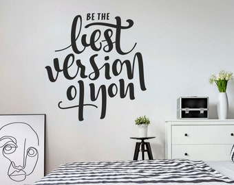Wall Sticker Quotes | Wall Quote Sticker Etsy