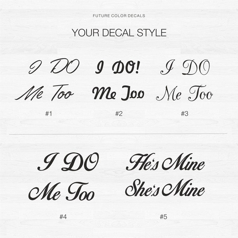 I do decal Wedding decal for shoes Vinyl decals Shoe heel stickers Bride decal I do Me too Mrs /& mr Shoe I do Wedding sticker Groom decal