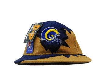 8882a4ecd0e Vintage Drew Pearson LA Rams Strapback Hat