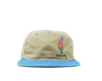 93054db1424 Vintage Atlanta Olympics 1996 Strapback Hat