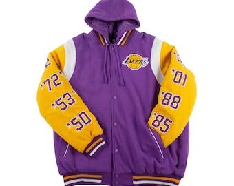 ed4c3e7447b Los Angeles Lakers Commemorative Jacket w  Removable Hood