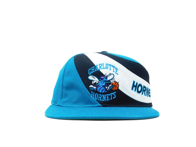 on sale 5a50d 60bd4 Throwback Charlotte Hornets Snapback Hat