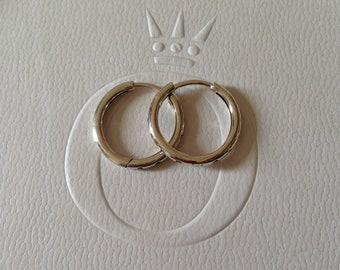 13fe78f46 Hoop Earrings Drops Sterling Silver