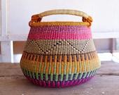 Pot Basket, Flower Basket, Storage Basket, Decorative Basket, Plant Basket, Indoor planter, Home Decor Basket, Woven Plant Basket