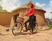 Bicycle Basket , Bike Basket , Bike Accessories , Bolga Basket , Basket For Bicycle , Bike Bag , Bike Front Basket