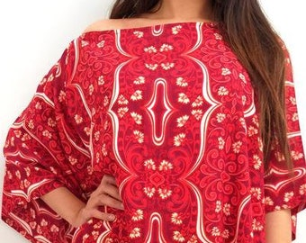 cecad42012259 Butterfly Top Scarlet