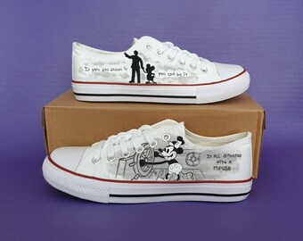 Painted Shoes Ideas Etsy