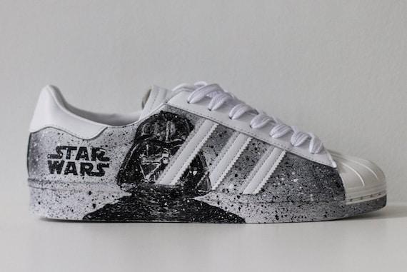 Adidas Superstar Star Wars Custom Shoes