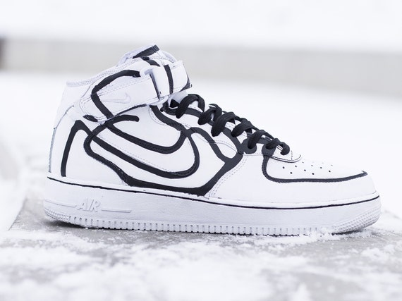air force 1 nike sketch