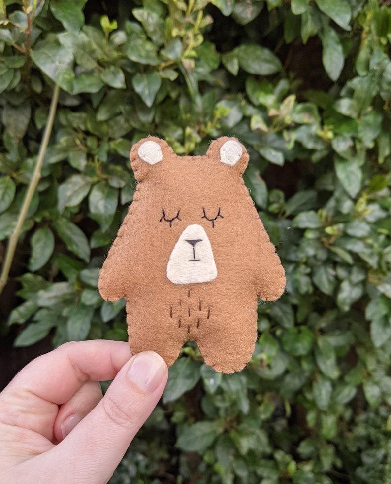 Wee Bear Hug. Thinking of You Gift. Send a Hug. Bereavement image 0