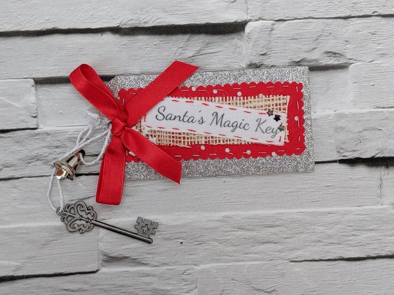 Santa's Magic Key. Magic Key for Santa Claus with a Silver image 0
