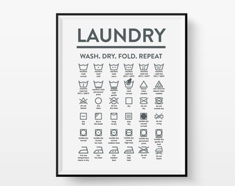 Alexa fold the laundry printable Laundry Room Sign Laundry