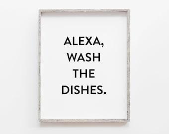 Alexa fold the laundry printable Laundry Room Sign Laundry