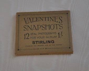 of Dublin 12 Vintage VALENTINE/'S SNAPSHOTS Real Photos x Twelve